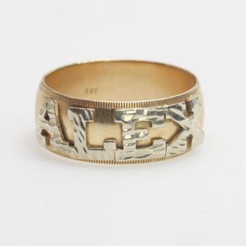 "14kt Gold 7g ""Alex"" Ring"