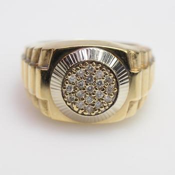 14kt Gold 9.23g Diamond Ring