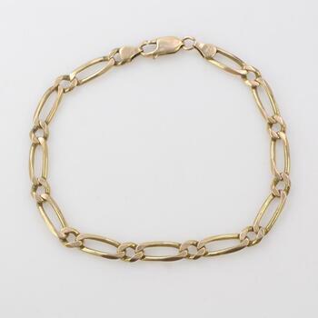 14kt Gold Bracelet 12.24g