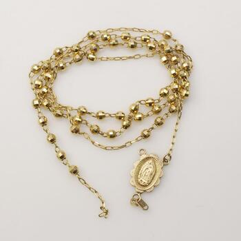 14KT Gold Religious Necklace