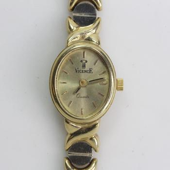 14kt Gold Vicence Watch