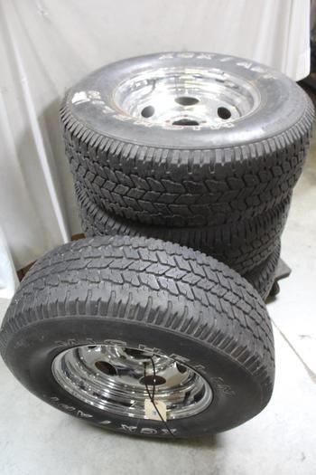 "15"" Rims/wheels, 4 Pieces"
