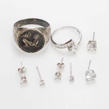 15g Silver Jewelry, 8 Pieces