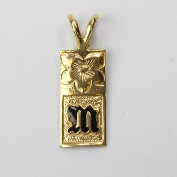 16k Gold 1.35g Pendant