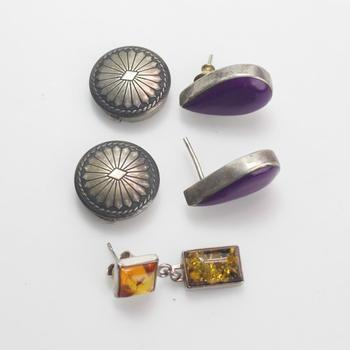 17.10g Silver Jewelry, 5 Pieces