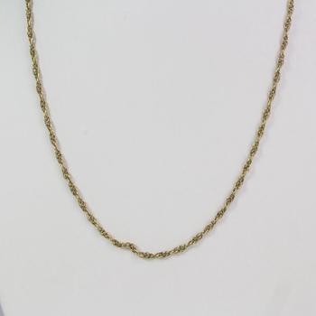 17kt Gold 10.75g Necklace