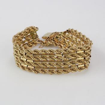 17kt Gold 43.83g Bracelet