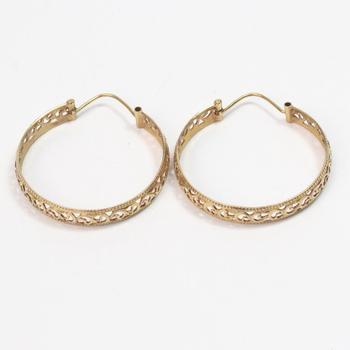 17kt Gold 9g Earrings