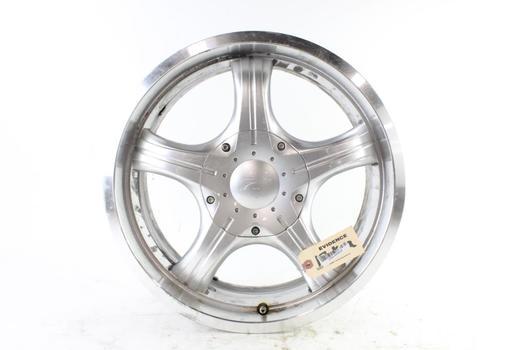 """18"""" Rim With Platinum Wheels Center Cap"""