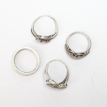 18.50g Silver Jewelry, 4 Pieces