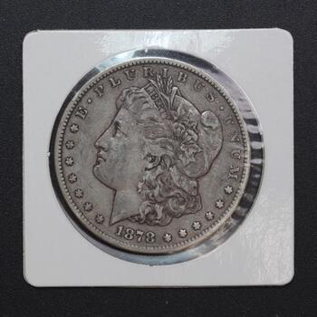 1878-CC Silver Morgan Dollar