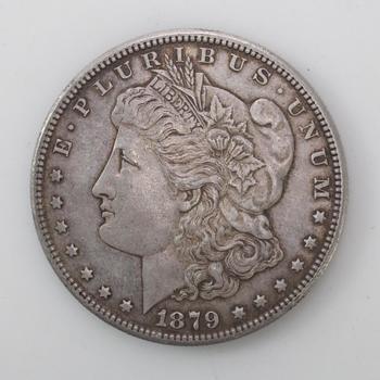 1879-S Silver Morgan Dollar