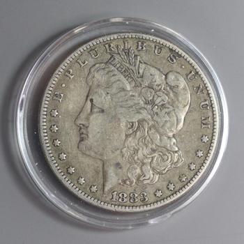 1883 Silver Morgan Dollar