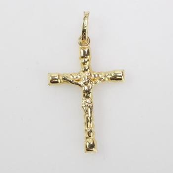 18k Gold 1.30g Cross Pendant
