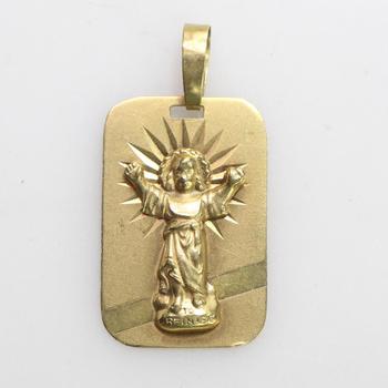 18k Gold 1.31g Pendant
