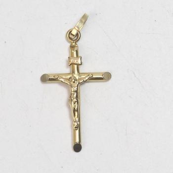 18k Gold 2.23g Religious Pendant