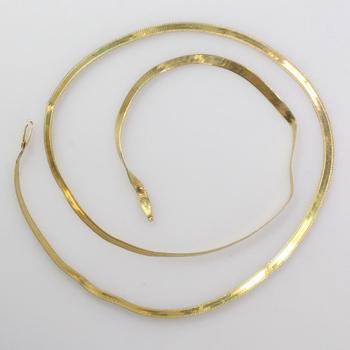 18k Gold 4.90g Necklace