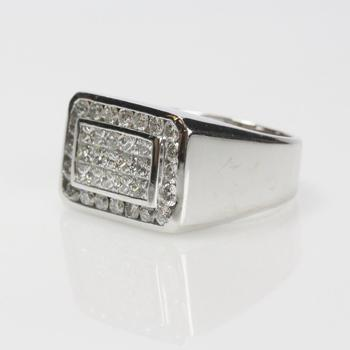 18k White Gold 3.00ct TW Diamond Ring - Evaluated By Independent Specialist