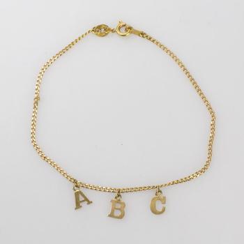 18kt Gold 2.07g Bracelet