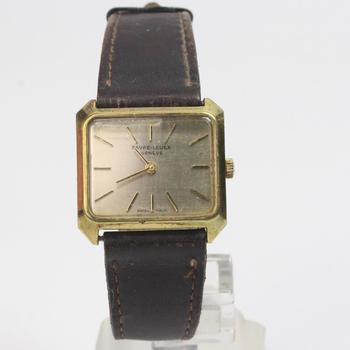 18kt Gold Favre-Leuba Wrist Watch