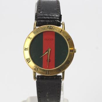 18kt Gold Gucci Watch