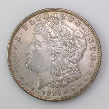 1921 Silver Morgan Dollar