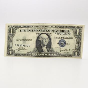 1935 C $1 Silver Certificate Bill