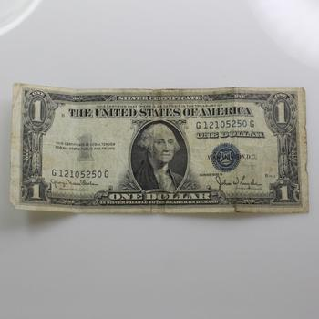 1935 A Blue Seal Silver Certificate $1 | Property Room