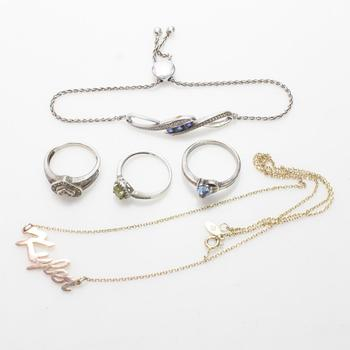 19.42g Silver Jewelry, 5 Pieces