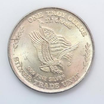 1981 U.S. Assay Office 1 Troy Oz. Fine Silver Round