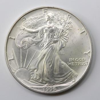 liberty 1995 coin