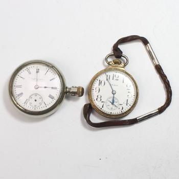 2 Elgin Pocket Watches