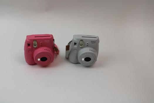 2 Fujifilm Instax Mini 9 Instant Cameras