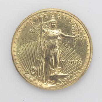 2002 $25 1/2 Troy Oz 22k Gold American Eagle Coin