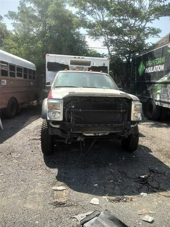 2013 Ford F450 (Brooklyn, NY 11214)