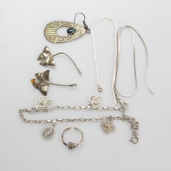 20.81g Silver Jewelry, 7 Pieces