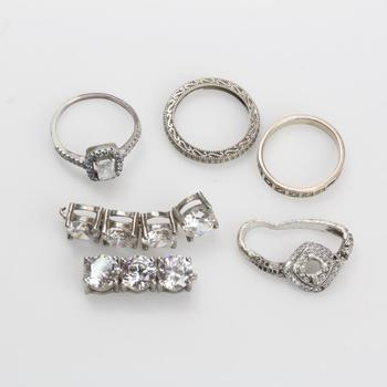 21g Silver Jewelry, 6 Pieces