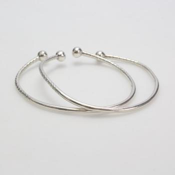 23.86g Silver Jewelry, 2 Pieces