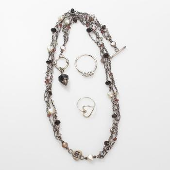 23.89g Silver Jewelry, 3 Pieces