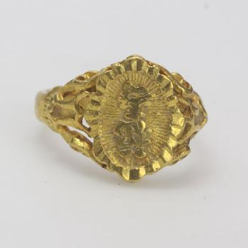 23kt Gold 7.5g Ring