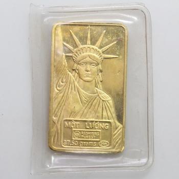 24kt Gold Bar - Rare Mot Luong 37.5g