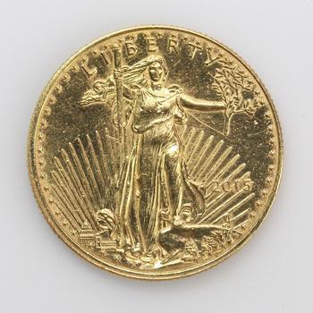 25 Dollar 22kt Gold 1/2 Oz American Eagle