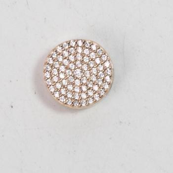 2.54g Rose Gold Plated Pandora Reflexions Dazzling Elegance Clip Charm