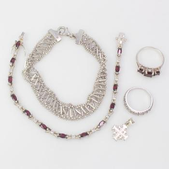 26.79g Silver Jewelry, 5 Pieces