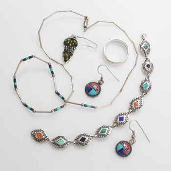 29.82g Silver Jewelry, 6 Pieces