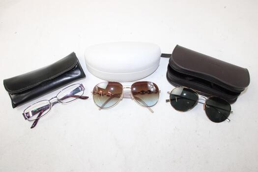 3 Pairs Of Mixed Sunglasses