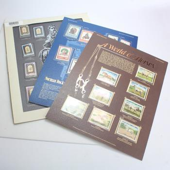 3 World Of Stamps Series, Includes 28 Stamps