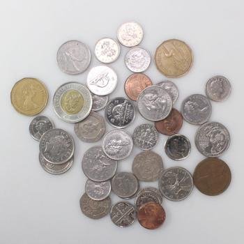 30+ U.S. And Foreign Currency