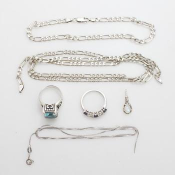 30.34g Silver Jewelry, 6 Pieces