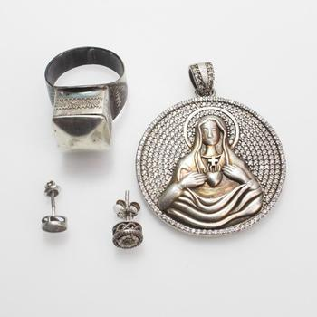 30.75g Silver Jewelry, 4 Pieces